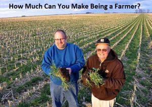 how much do farmers earn
