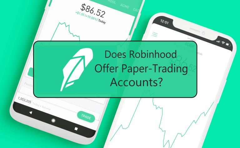 robinhood paper trading account
