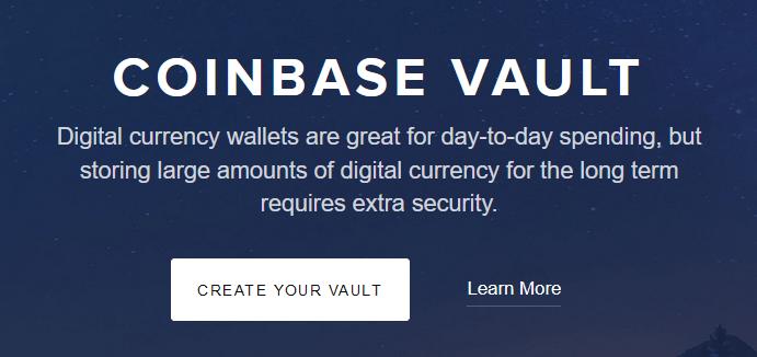is coinbase vault safe