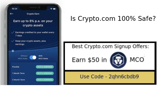 Crypto.com safe legit trusty or unsafe scam