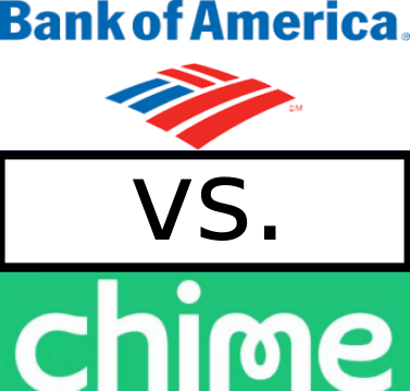 Bank of America vs Chime