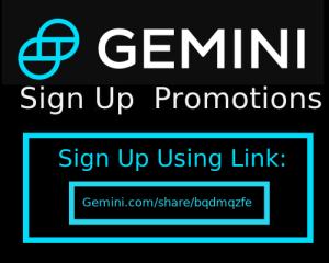 gemini promo code referral bonus