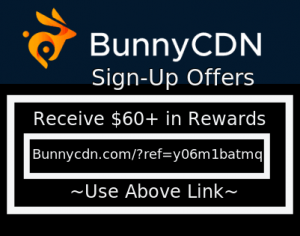 bunnycdn promo code sign up