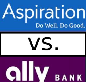 aspiration vs ally bank compare