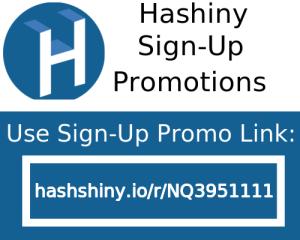 Hashiny Promo Code reddit signup link referral