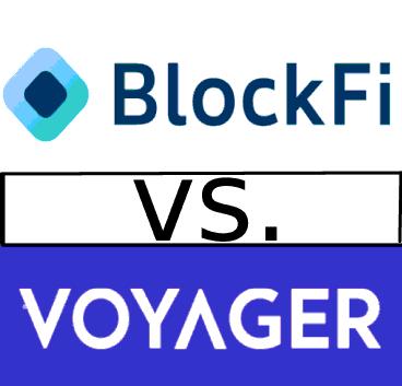 BlockFi vs Invest Voyager Compare