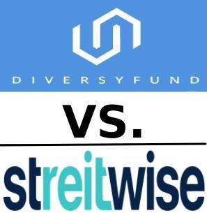 diversyfund vs streitwise better ereit platform fees logo example
