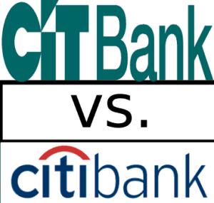Compare CIT Bank vs Citi Bank
