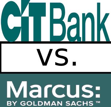 cit bank vs marcus by goldman sachs savings account