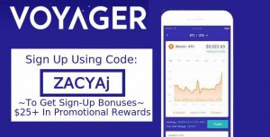 Voyager Crypto Sign Up Bonus Referral Codes Reddit