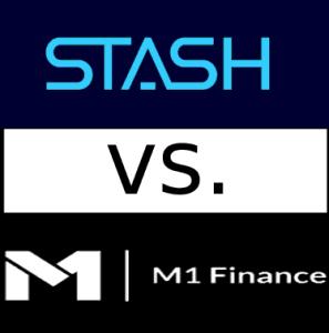 m1 finance vs stash logo compare